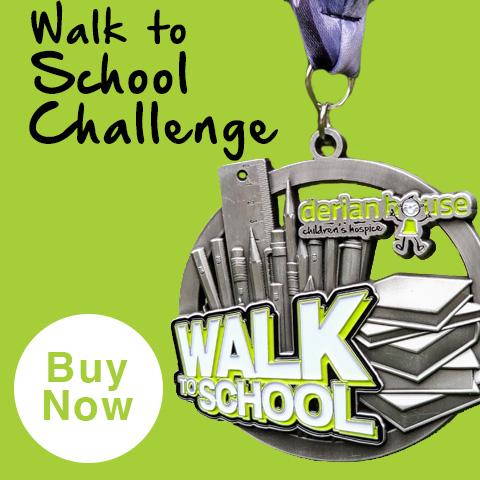 derian walk to school challenge