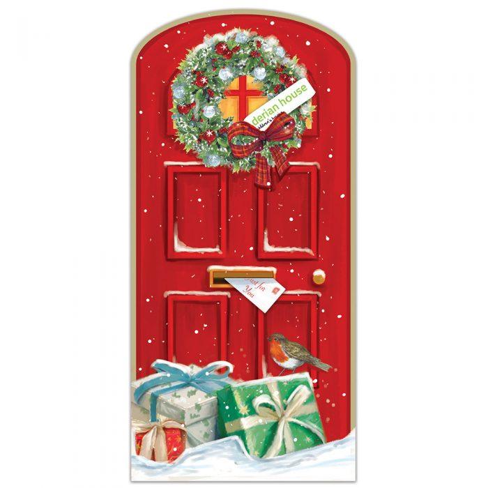 christmas door