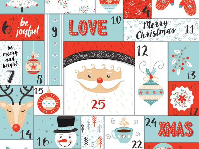 Advent Calendar Xmas Card