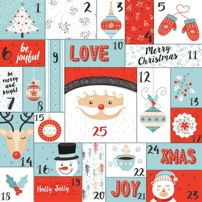 Advent Calendar Xmas Card