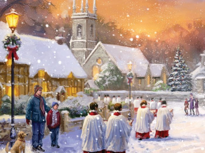 Choir in the Village Xmas Card