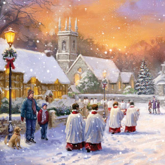 Choir in the Village Xmas Card