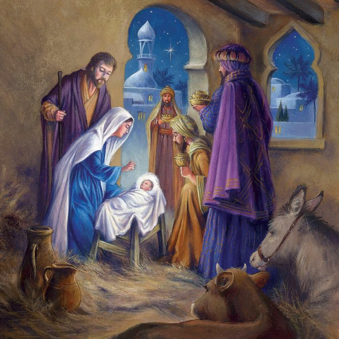 Nativity Xmas Card