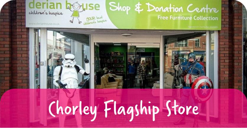 chorley flag store derian house