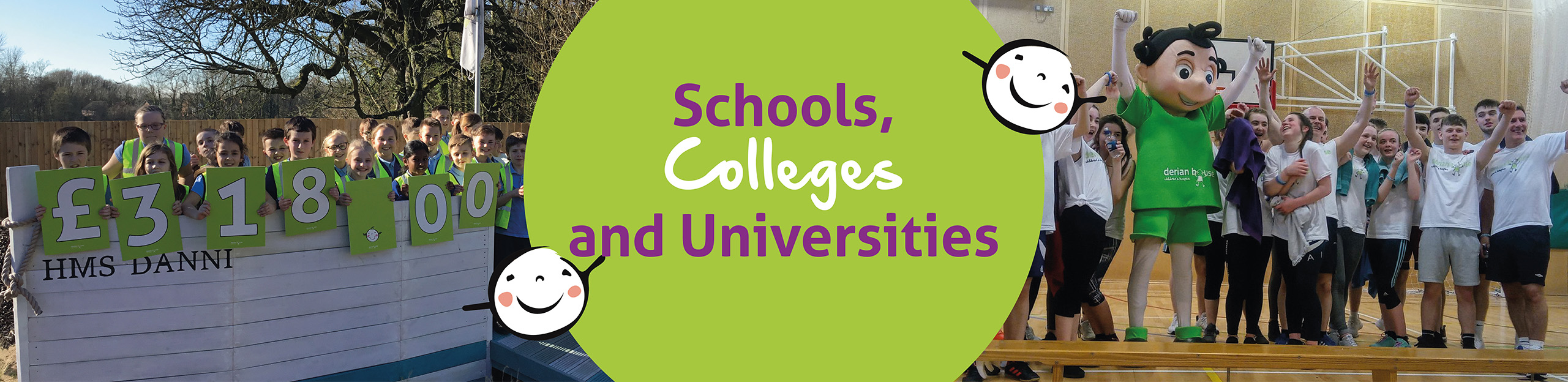 derian house Schools, Colleges & Universities