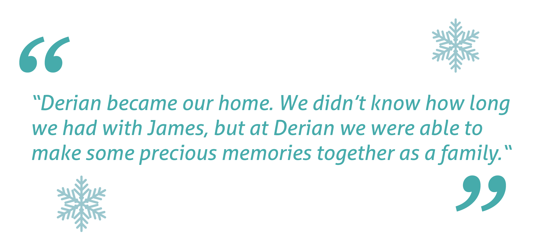 derian house james quote
