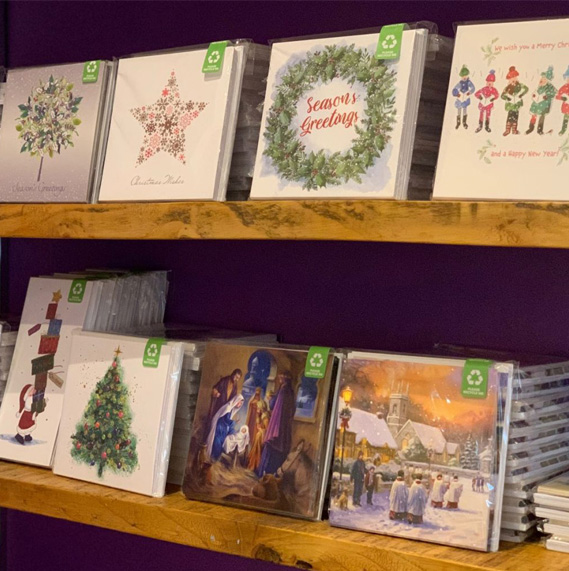 christmas cards at Derian