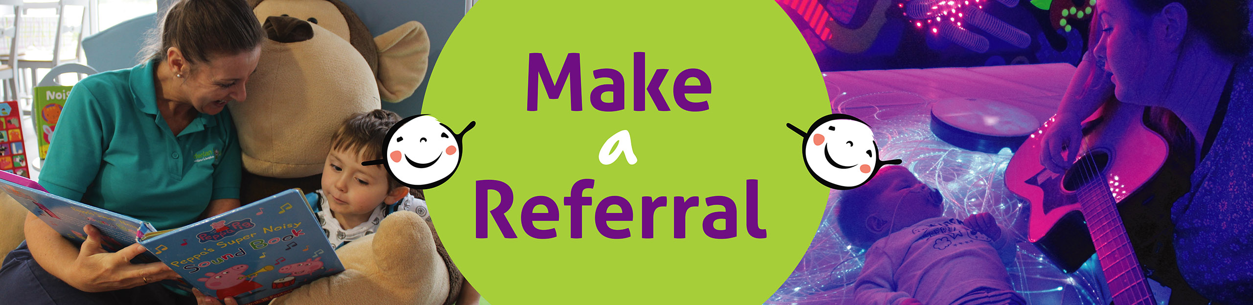 derian house referral page