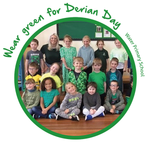 Derian - Wear green for derian Day